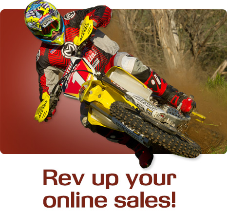 Rev up your online sales!