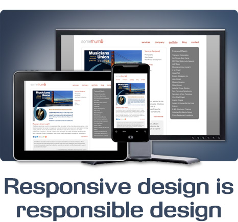 Responsive design is responsible design